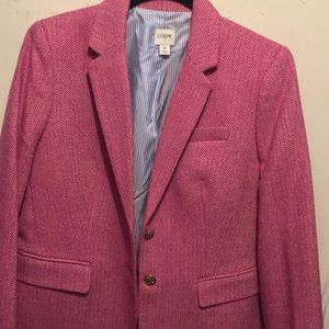 J. Crew pink blazer